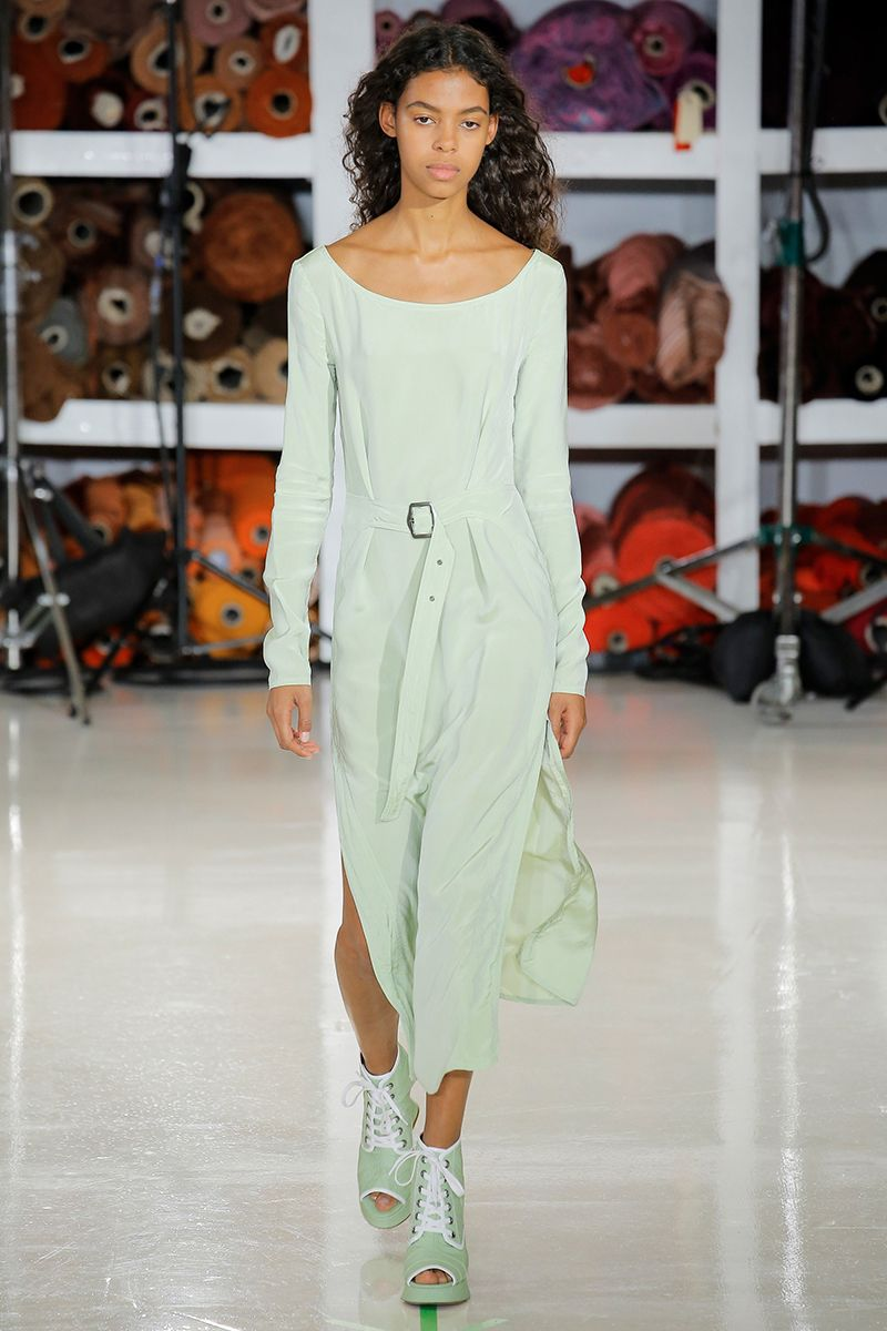 Mint The Spring Summer 2020 Colour Trend Fashion Ready To Wear Fashion Show