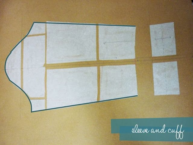 How to grade a pattern - arms- Inspired by The Great British Sewing Bee | The Thrifty Stitcher
