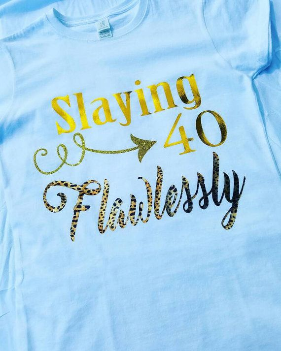 6f2e9c38 Birthday Shirt For Women, CHOOSE your Age, Birthday Slay Shirt, Birthday  Girl Shirt, 40th Birthday Shirt, Leopard Birthday Shirt in 2019 | ♥ GROUP  BOARDS ...