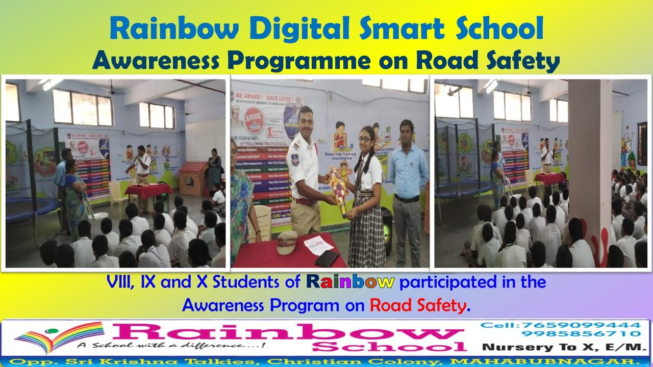Rainbow Students of Class VIII, IX and X participated in