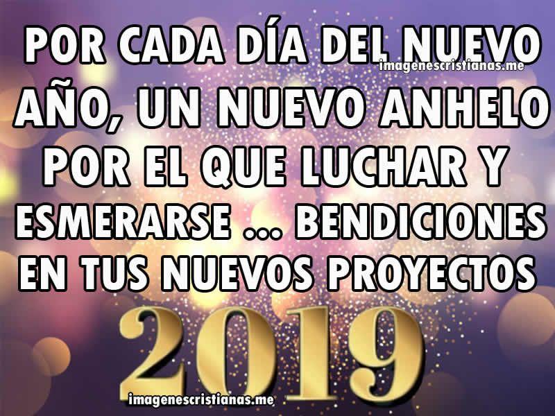 Imagenes De Feliz Ano Nuevo 2019 Con Mensajes Cristianos
