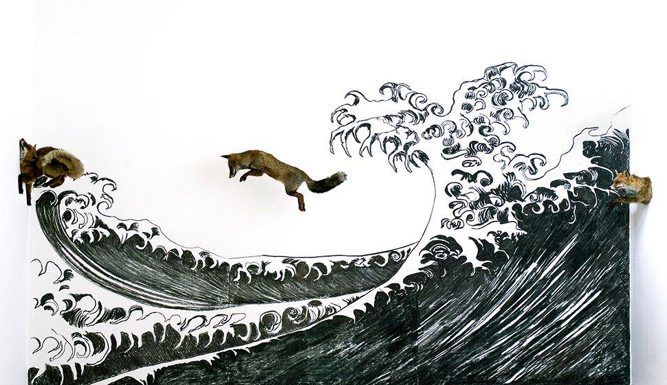 """""""La vague de l'océan"""", 2011"""