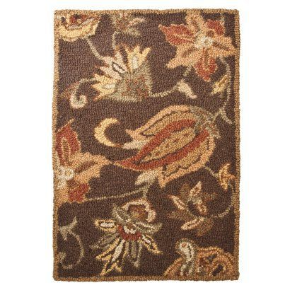 wool hooked rugs | target home hooked wool accent rug
