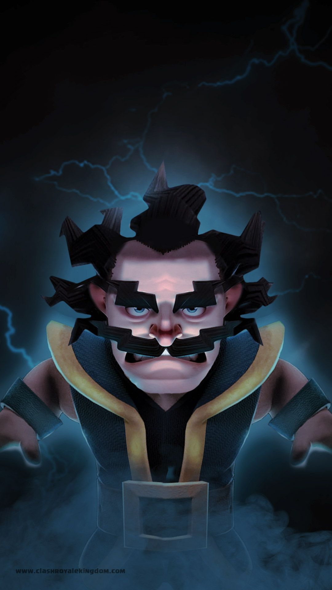 Electro Fury Wallpaper Download High Quality Clash Royale