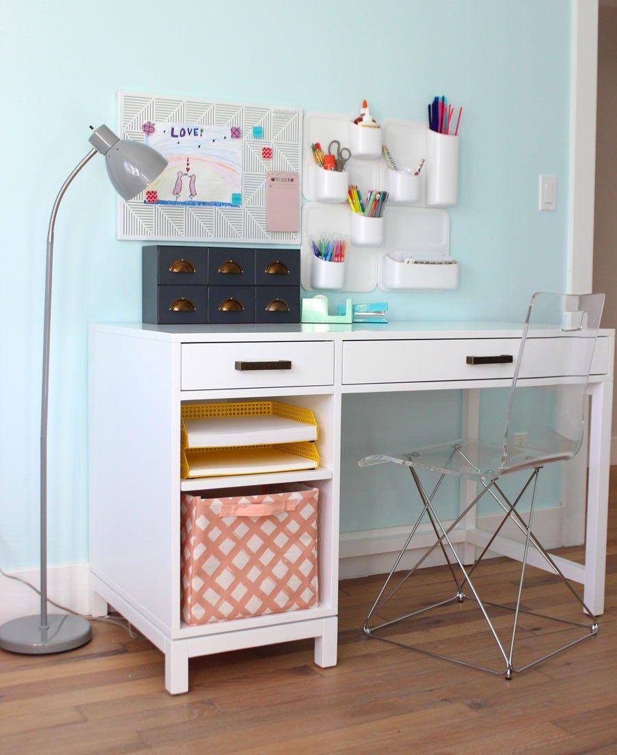 Big Kid Desk And Art Nook Kids Art Table Girly Room