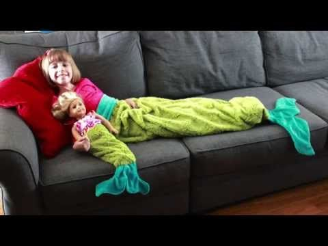 Mermaid Tail Blanket - Made By Marzipan | DIY | Pinterest | Nähen ...