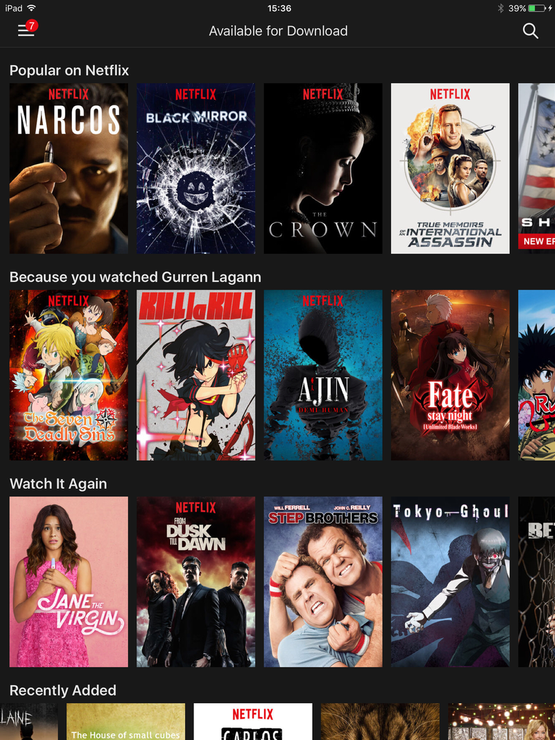 Here's our guide on how to download and watch Netflix videos offline