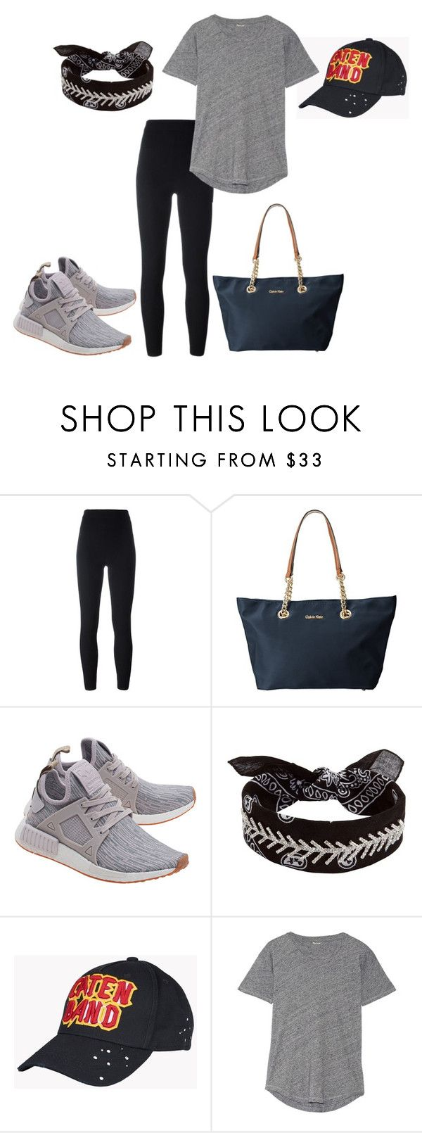 """""""Untitled #76"""" by xxapril on Polyvore featuring adidas Originals, Calvin Klein, Fallon, Dsquared2 and Madewell"""