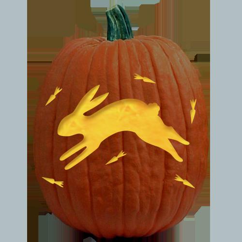 Folkart Bunny Download Pumpkin Carving Pattern Inspiration
