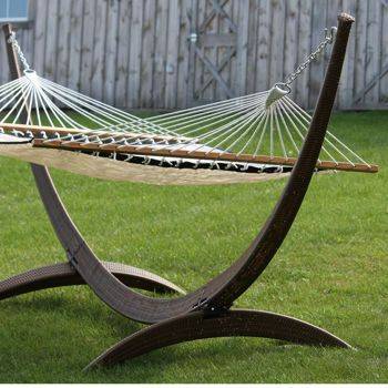 costco wicker 45m 15ft arc hammock stand