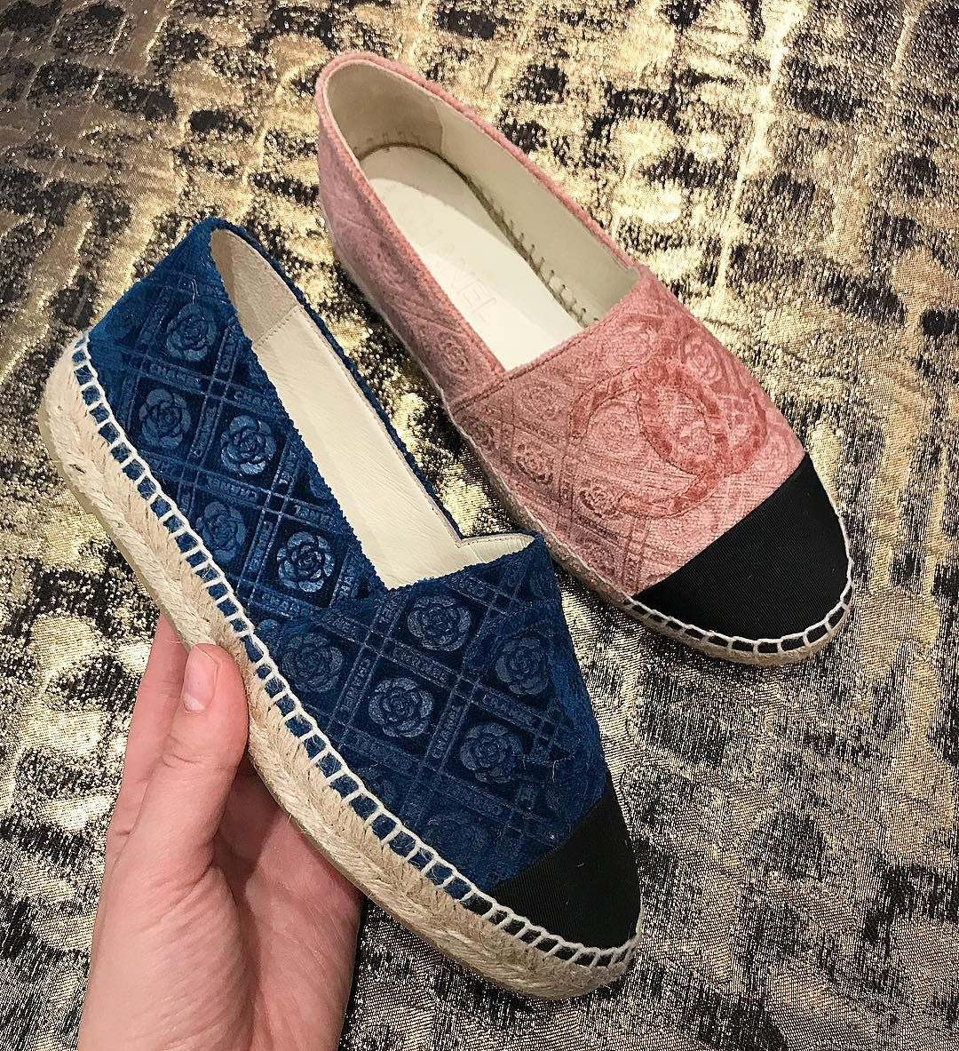 Chanel espadrilles for pre fall 2017 collection