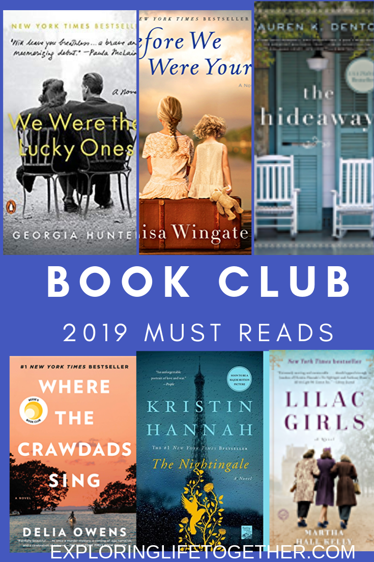 Good reads for your next book club. #bookstoread