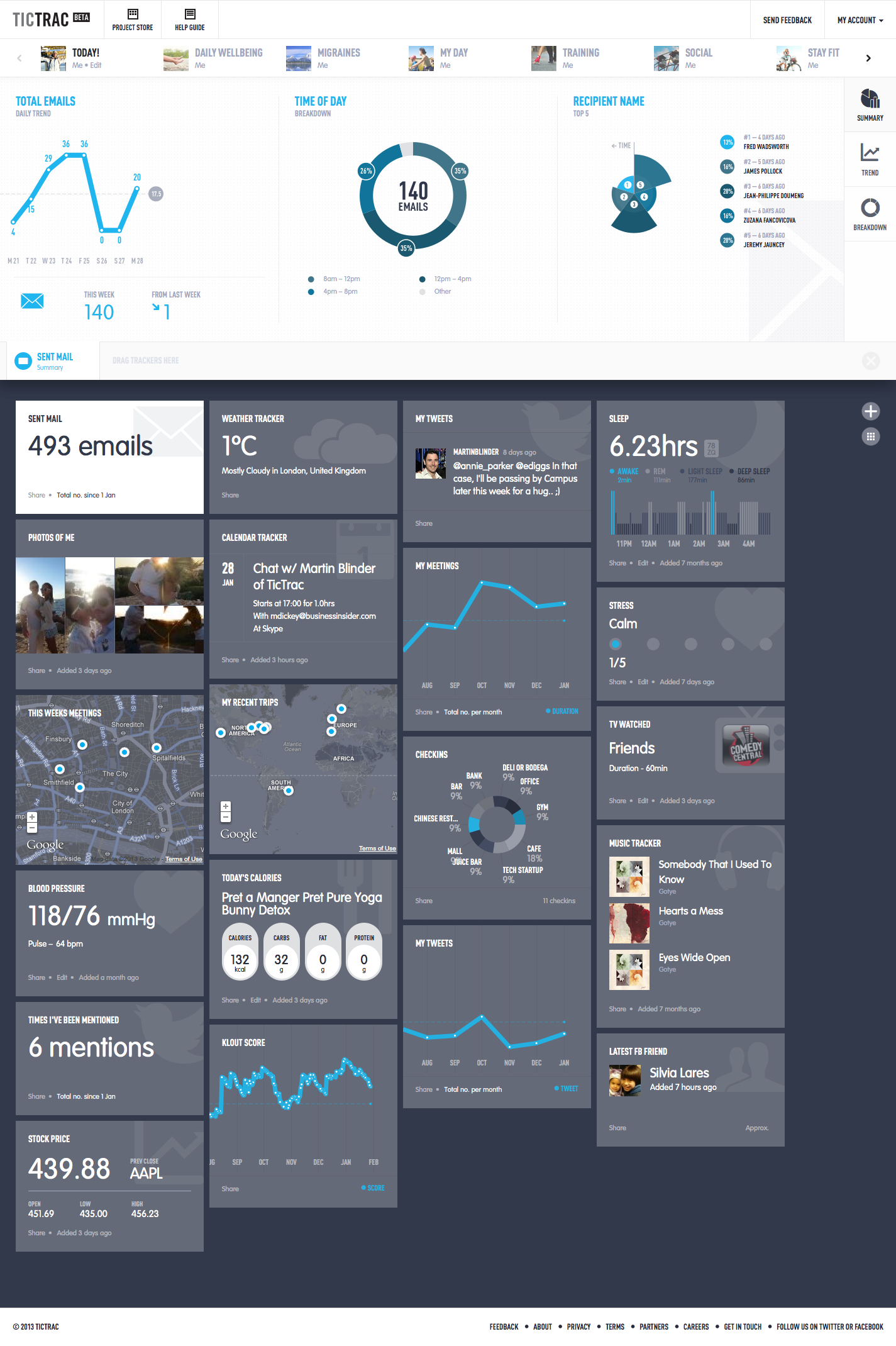 User Interface Inspiration  Webby Web Design  Data -6232