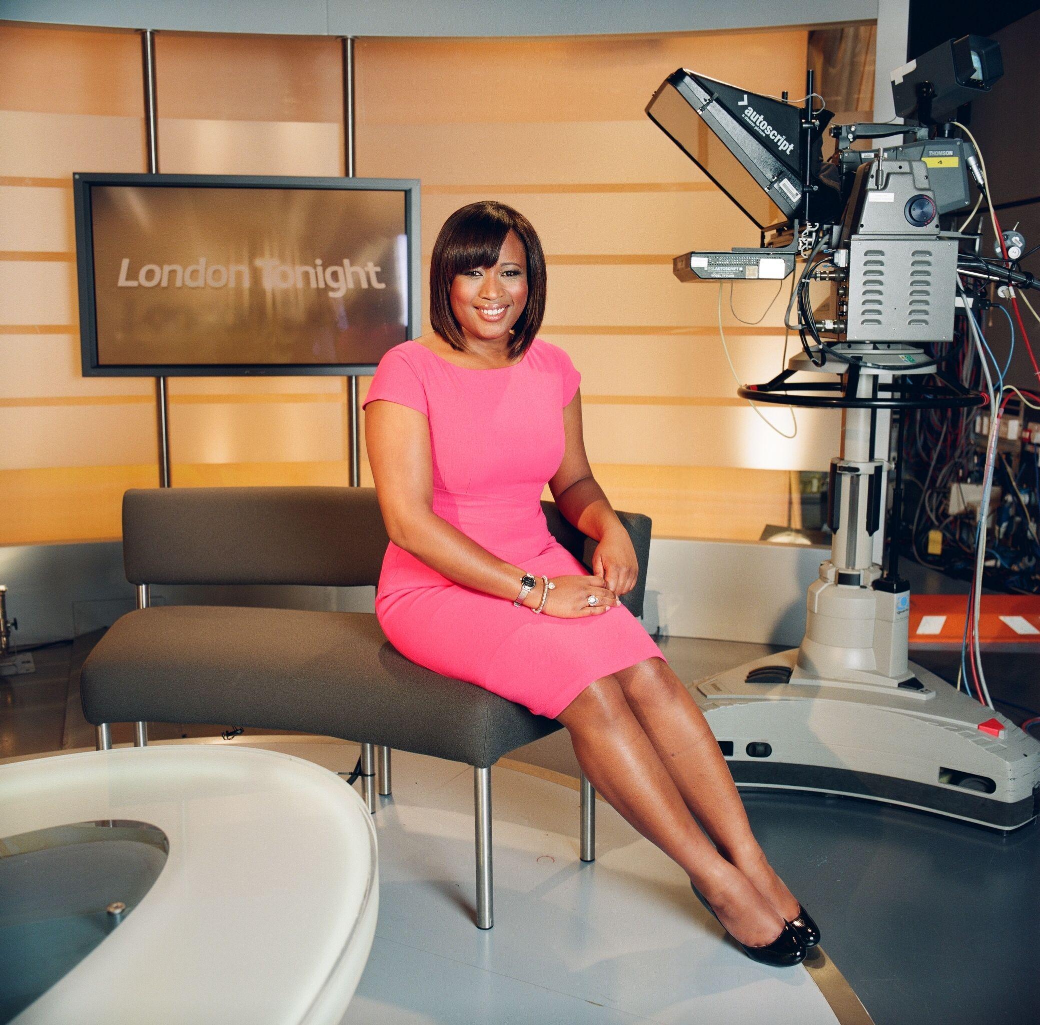 Charlene White A Journalist And Newsreader; Charlene Is