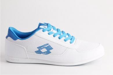 Lotto Erkek Mavi Beyaz Bagcikli Spor Ayakkabi Ayakkabilar Erkek Spor Ayakkabilari Spor