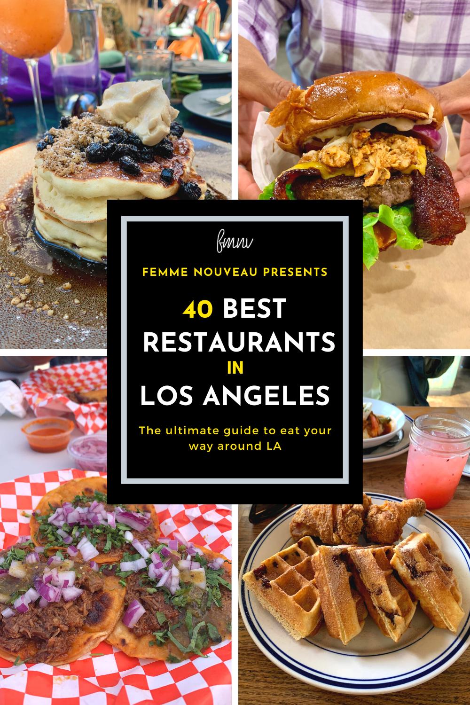 The 2020 Best Restaurants In Los Angeles List In 2020 Soul Food Kitchen Brunch Burger Jamaican Restaurant