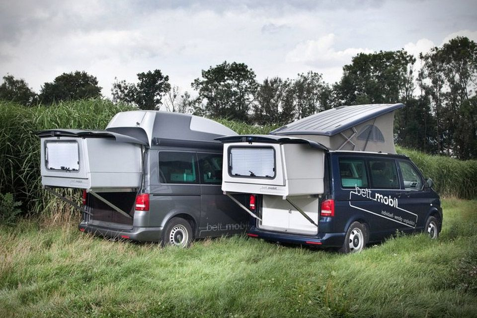 bett mobil extendable volkswagen multivan 1 camping. Black Bedroom Furniture Sets. Home Design Ideas