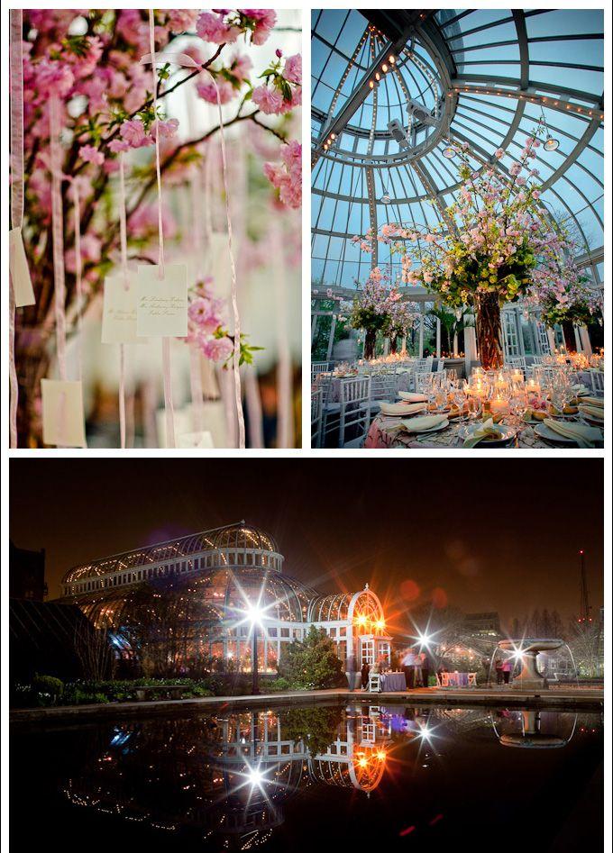 Brooklyn Botanic Gardens Wedding The Palm House is my