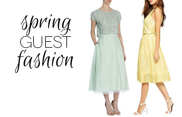 Chic Wedding Guest Attire : Chic co ords spring wedding guest fashion