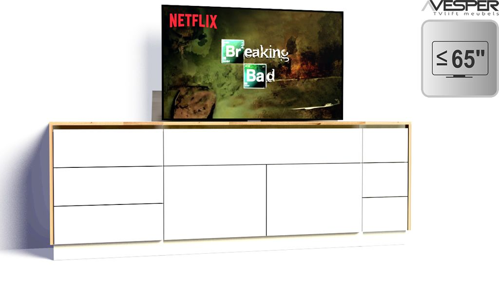 Tv Meubel Met Lift 55 Inch.Tv Lift Meubel 65 Inch Vesper Tv Lift Meubels Meubels