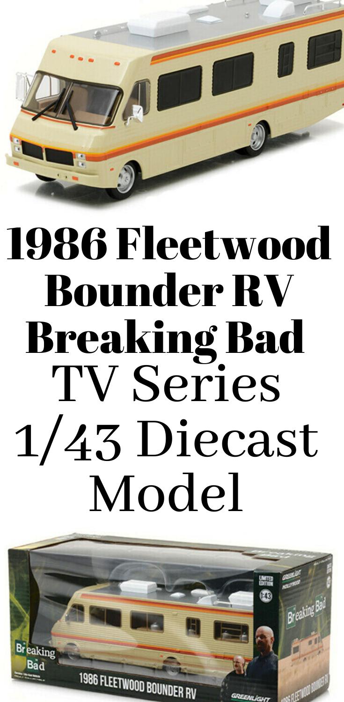 TV Series Greenlight 1:64 Breaking Bad 1986 Fleetwood Bounder RV