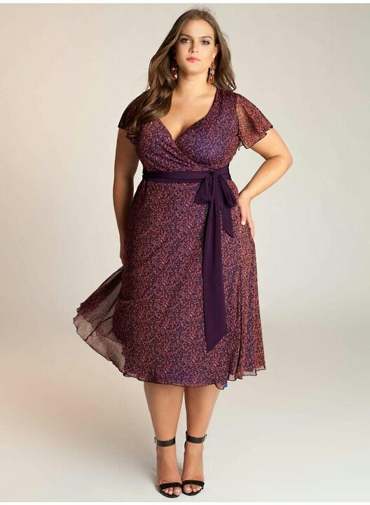 Plus Size Dress Fashion Pinterest Clothes Curves And Curvy