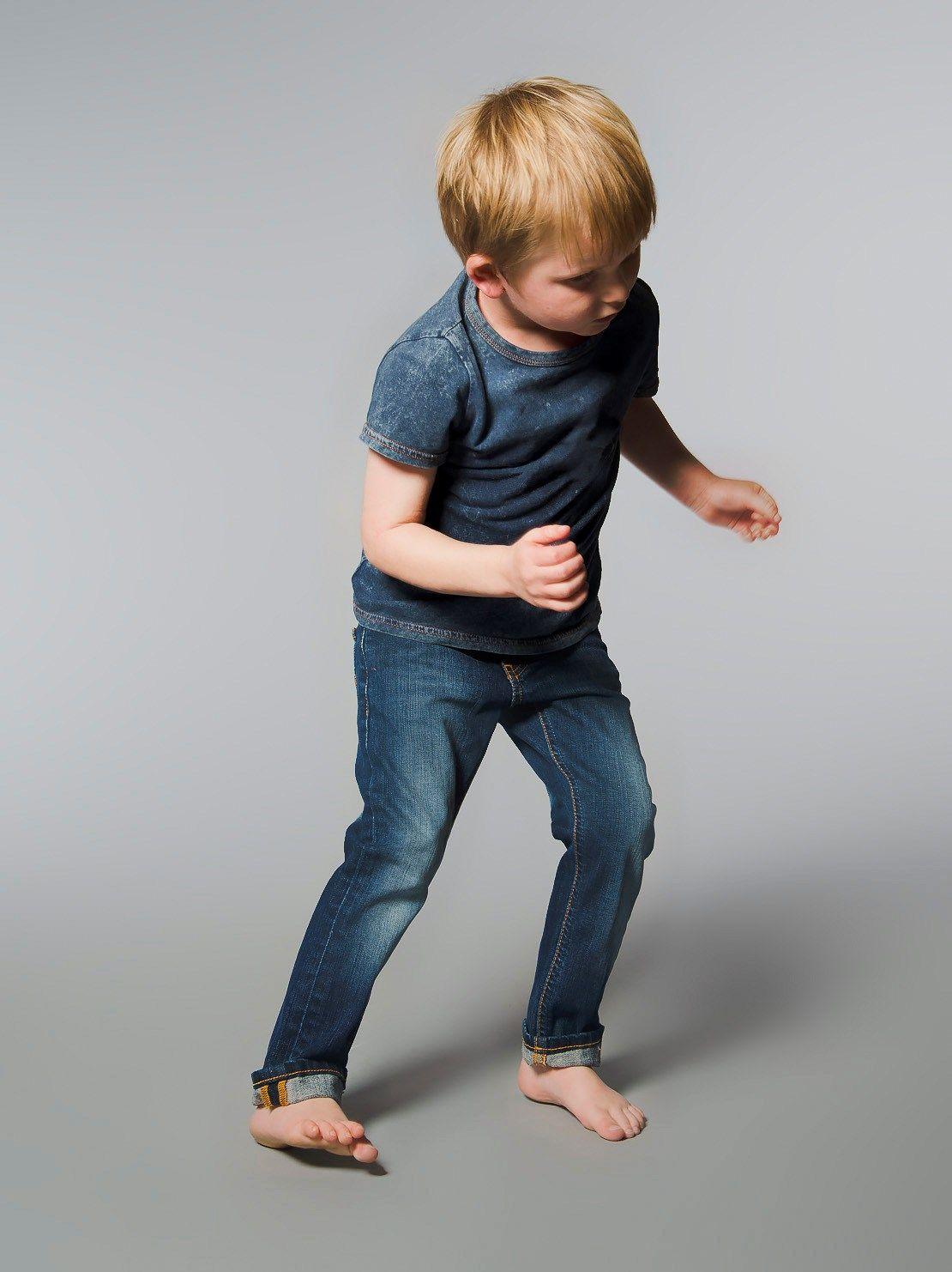 Tiny Turner Kid Used Wash Denim - Nudie Jeans Co Online Shop