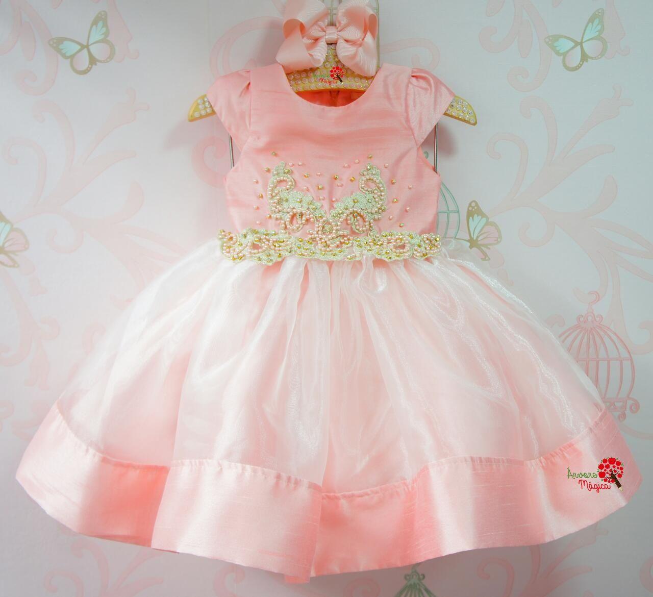 df011545d4 Vestido de Festa Infantil Baile Real Petit Cherie
