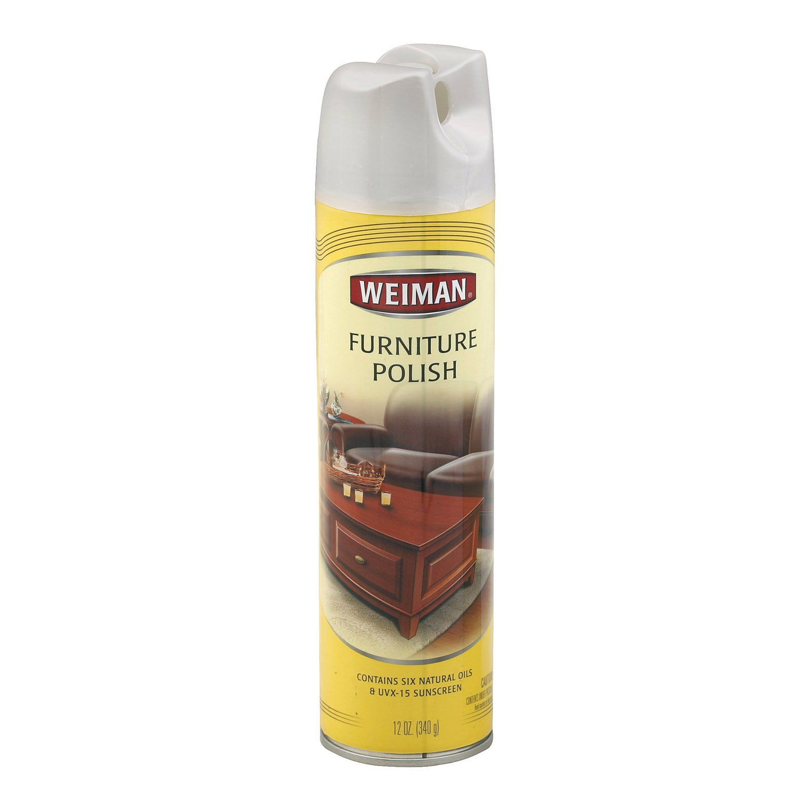 Weiman Furniture Polish Lemon Spray