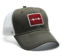 Hatch Outdoors Fly Fishing Icon Trucker Fly Fishing Hat