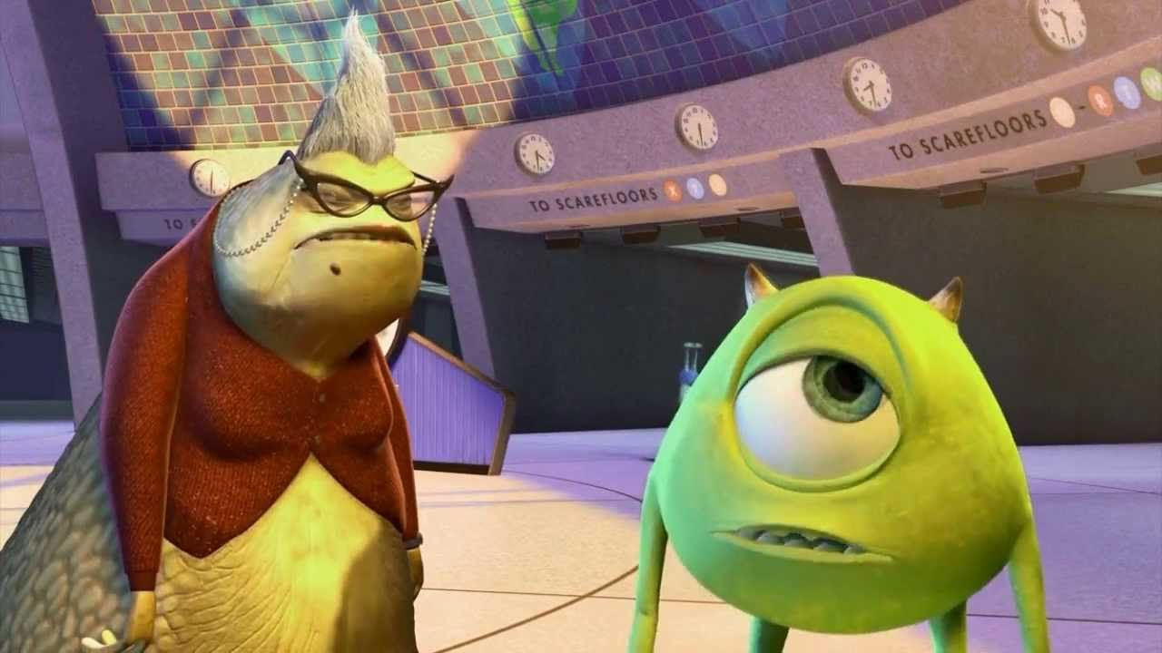 Monsters Inc All Roz Scenes Monsters Inc Roz Disney Movie Scenes Monsters Inc