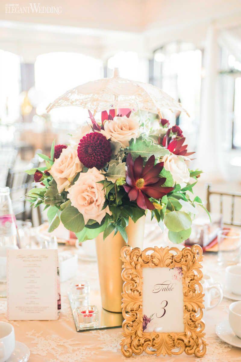 Admirable Burgundy Bridal Shower Inspiration Baby Shower Ideas Interior Design Ideas Clesiryabchikinfo