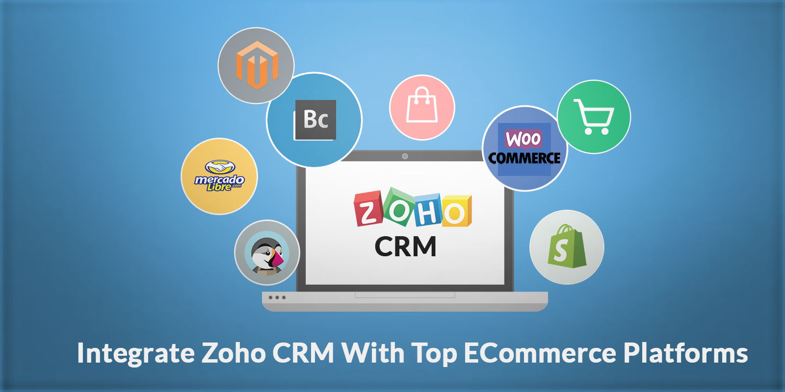 integrate zoho crm with top ecommerce platforms in minuts