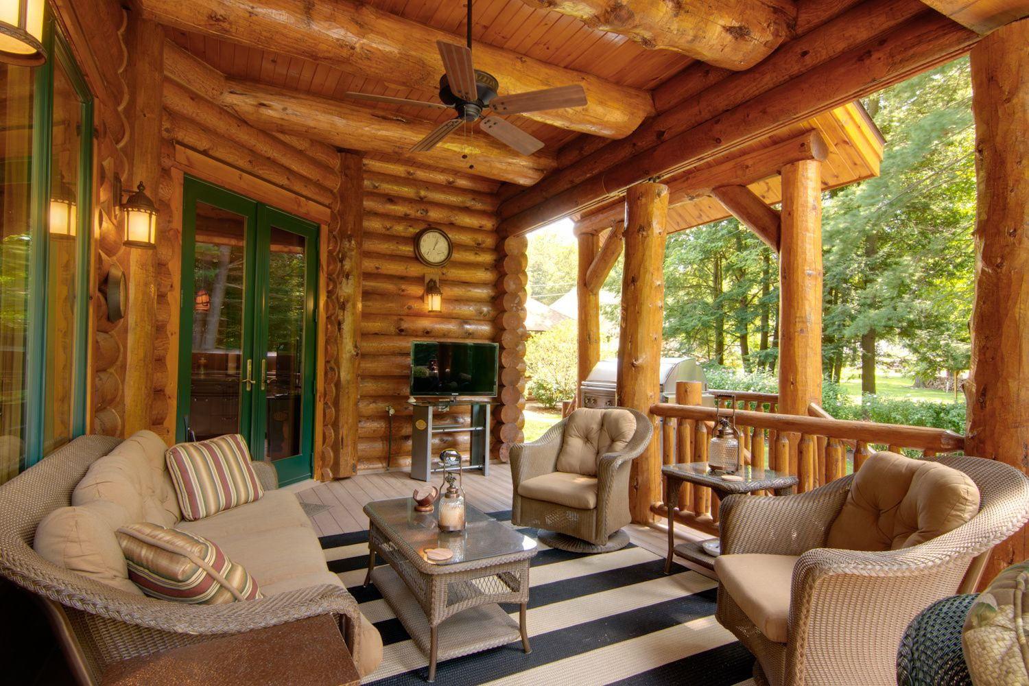 Log Homes Cabins Custom Designed Timberhaven Home Gallery