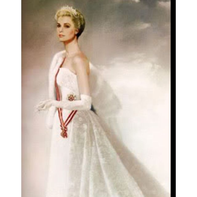State Portrait of HSH Princess Grace of Monaco Painted by Ralph ...