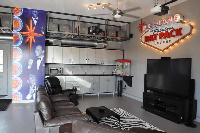 Garage Closets Storage Design Ideas Man Cave Home Bar Man