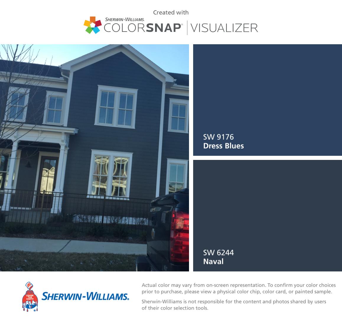 I found these colors with colorsnap visualizer for iphone by sherwin williams dress blues sw - Online exterior paint visualizer ideas ...