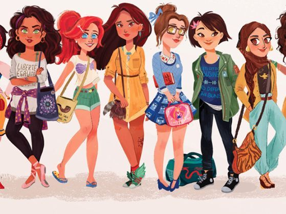 Which Modern Disney Princess Are You Disney Princess Modern Modern Disney Disney