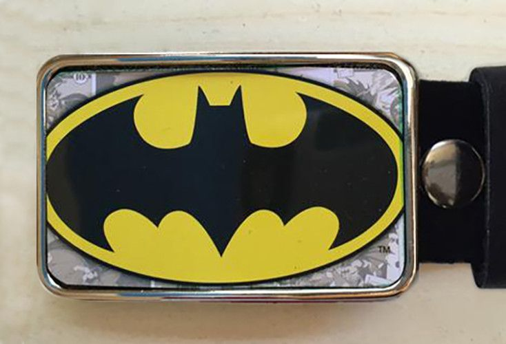 Tin Batman Belt Buckle