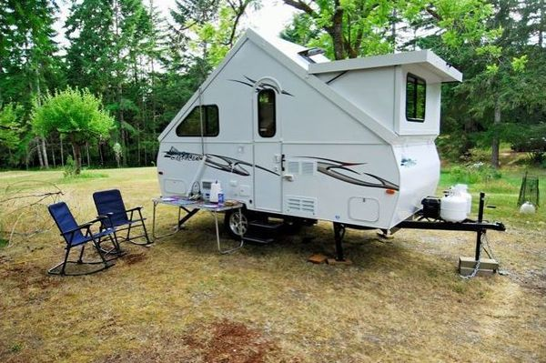 Why An A Frame Trailer Is Perfect For A Family On A Budget Pop