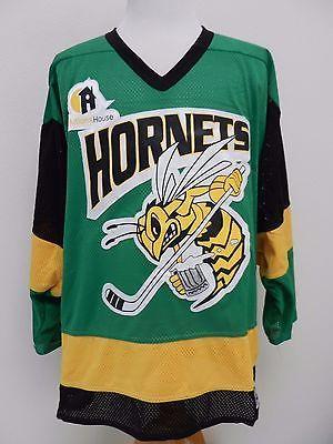 665053e93 Edina Hornets High School Hockey Jersey  5 Bakka Sewn Minnesota Adult Large