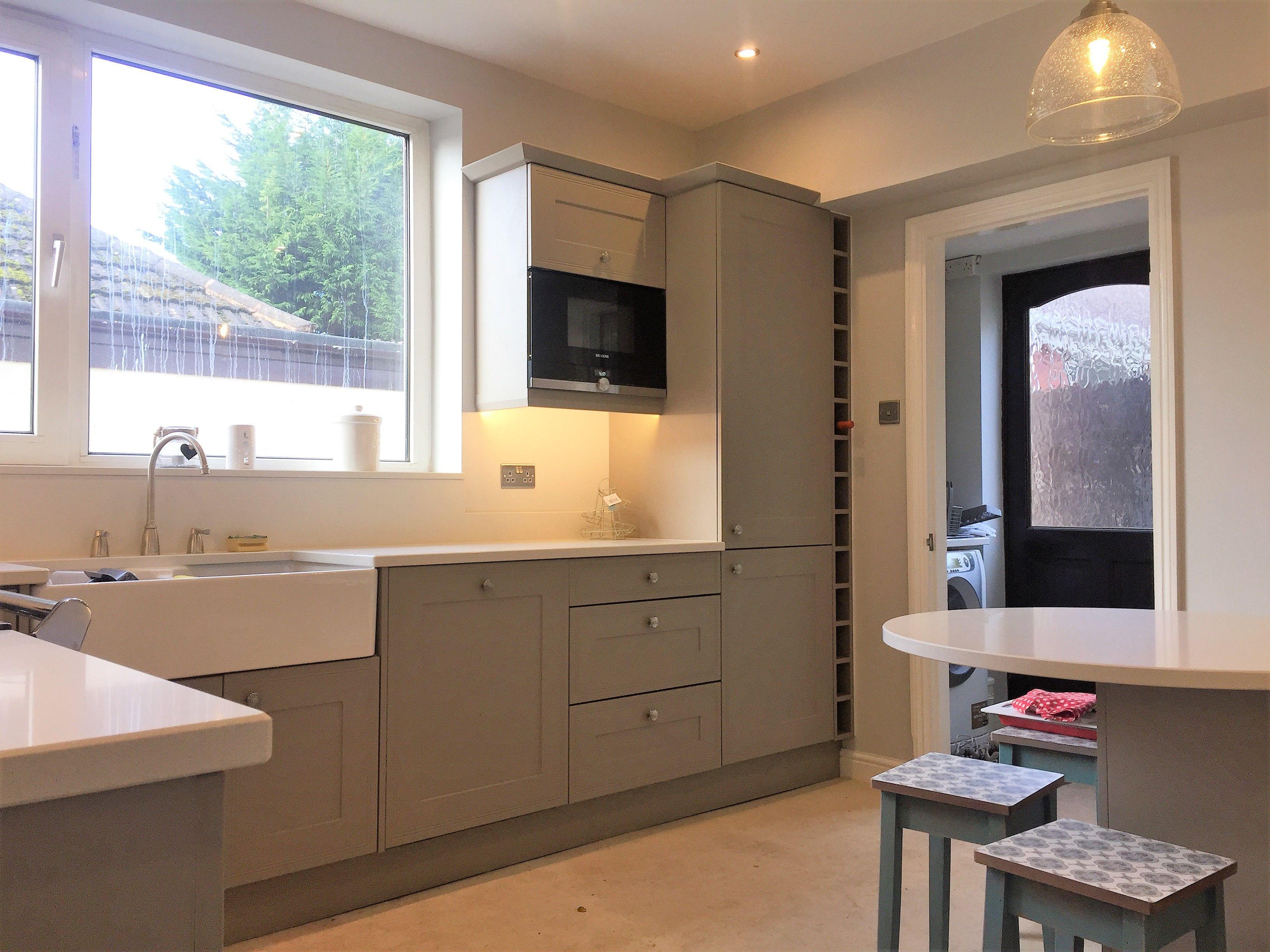Matt Stone Grey Shaker Style Kitchen | Kitchen Portfolio | Pinterest ...