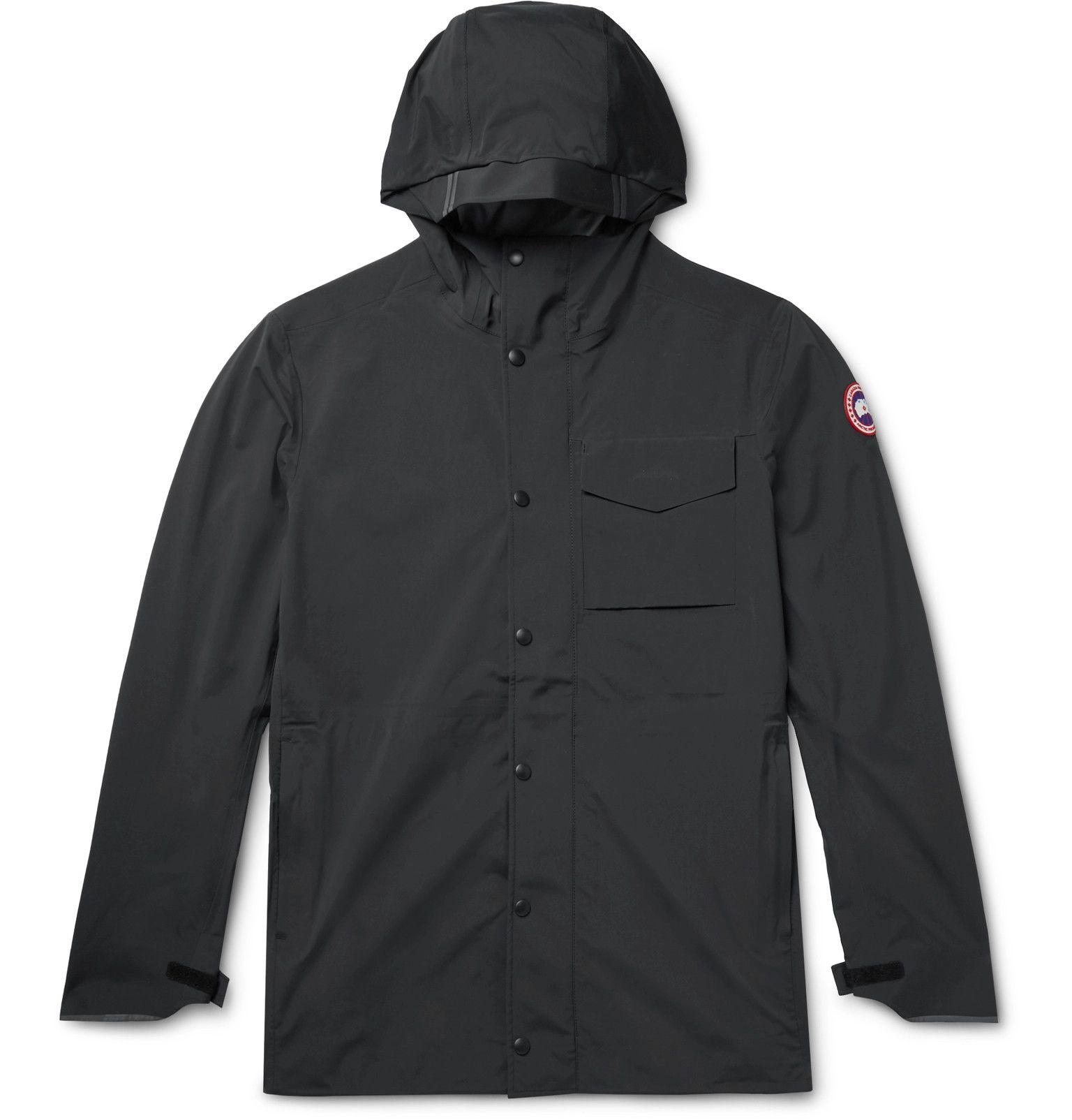 Canada Goose Nanaimo Tri Durance Hooded Jacket Men Black