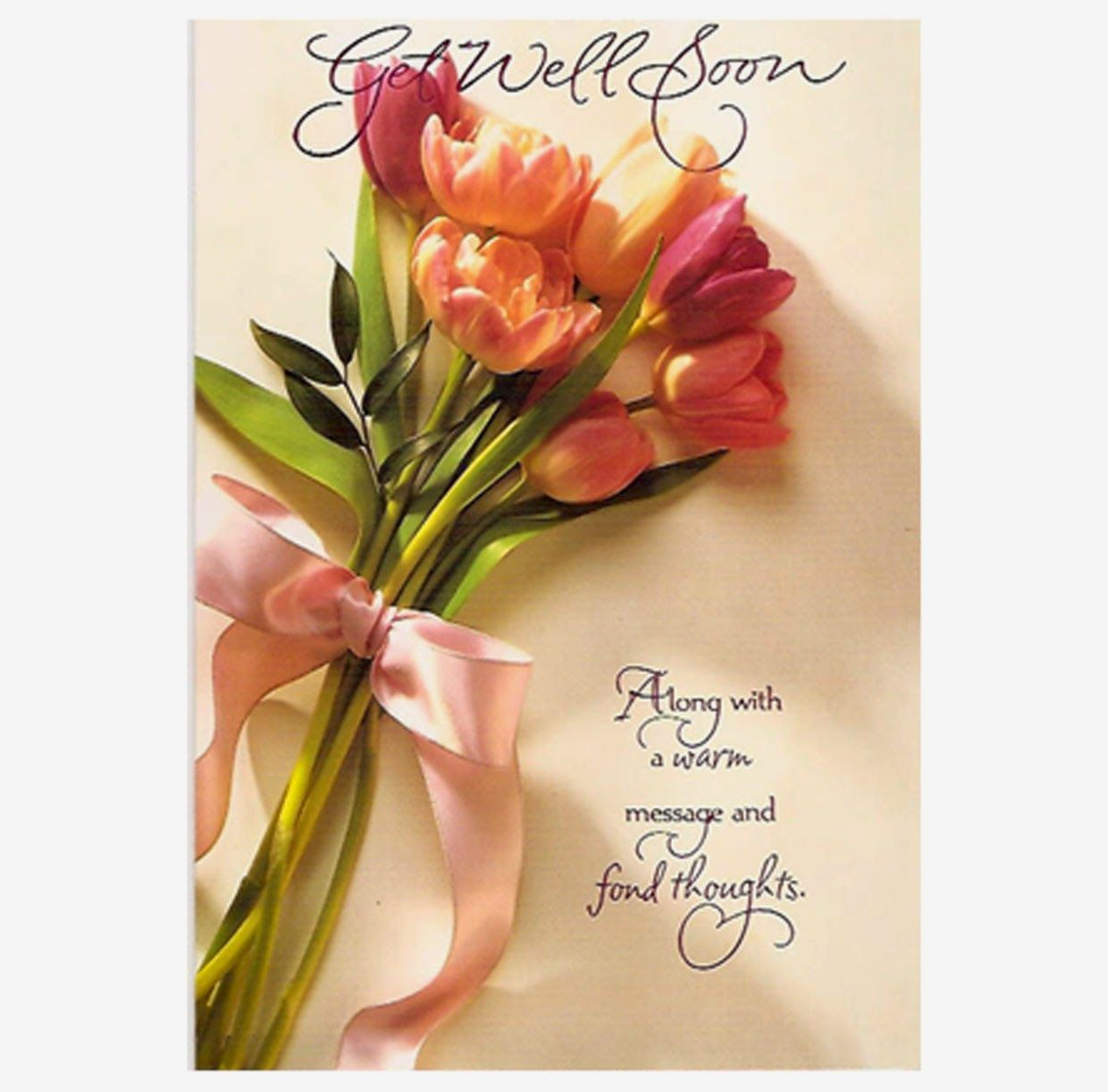Im glad your surgery went well today free greetings from www bouquet of roses get well soon greeting card kristyandbryce Gallery
