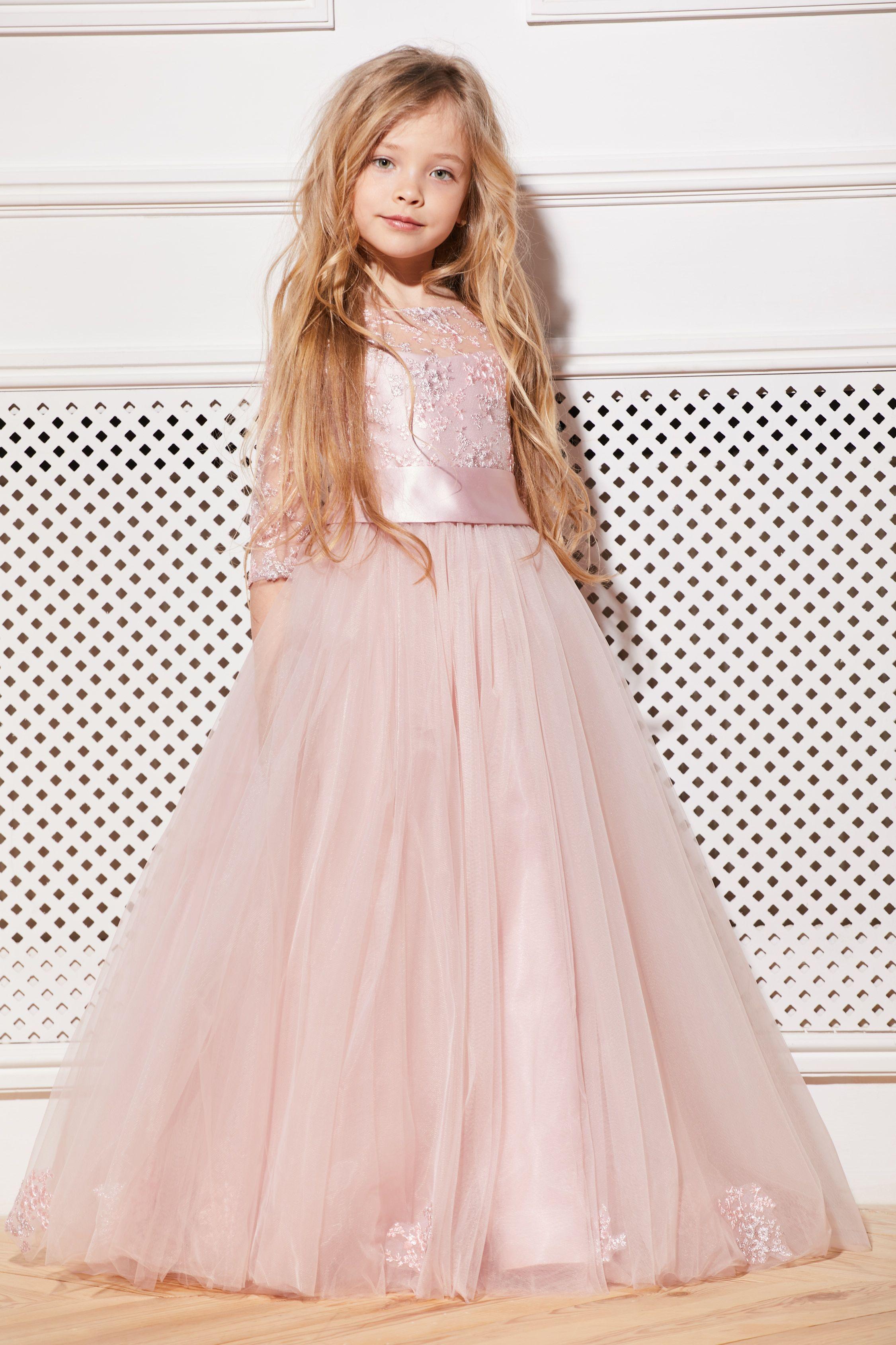 Blush flo blush flower girl dresses flower girl