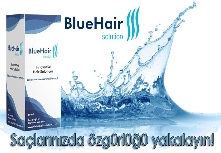 Blue Hair Serum Mavi Sac Mavi Serum