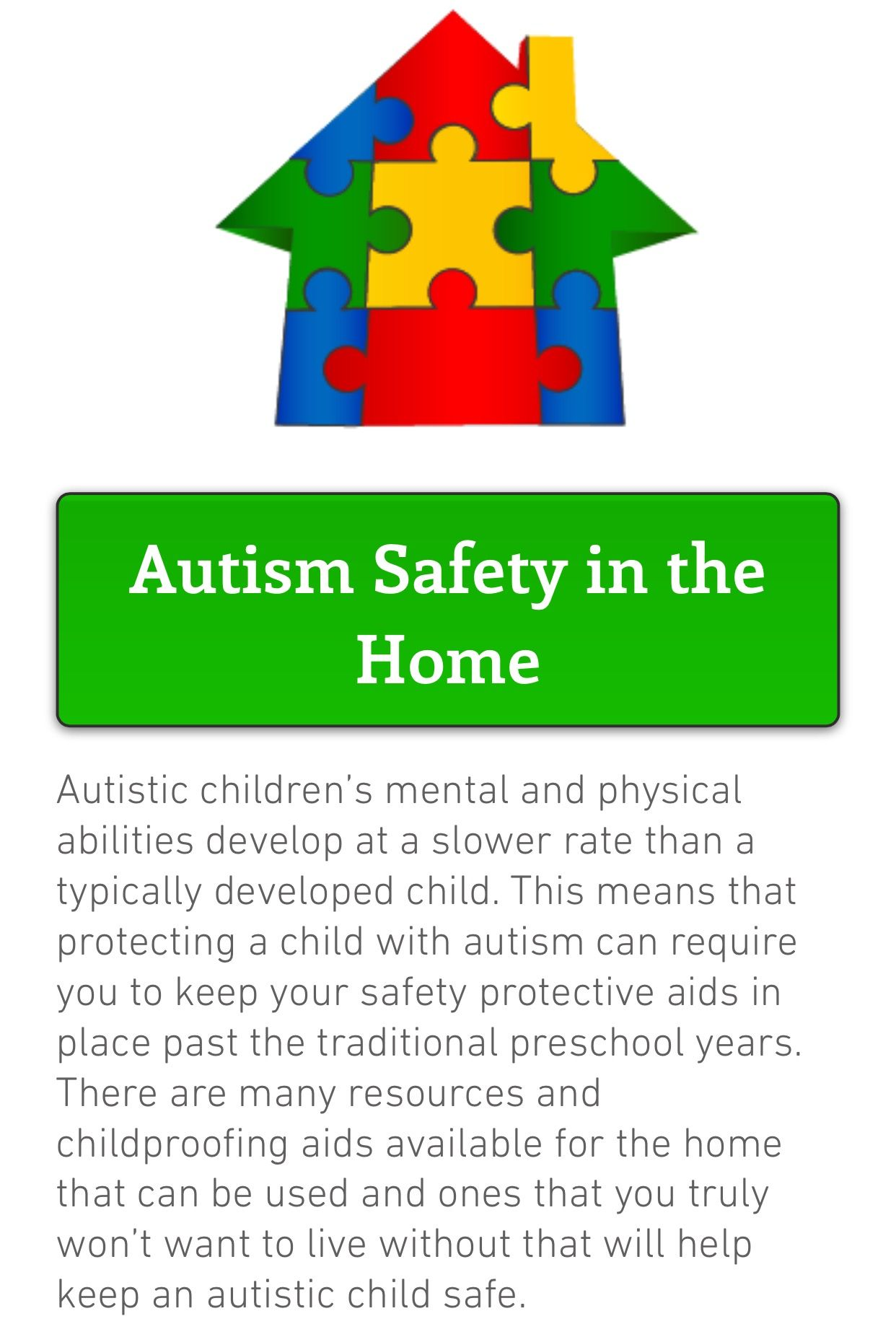 Pin by TheNatashaBarber on Autism Safety Autistic