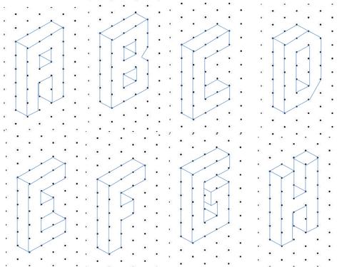 isometric alphabet 1  pptx