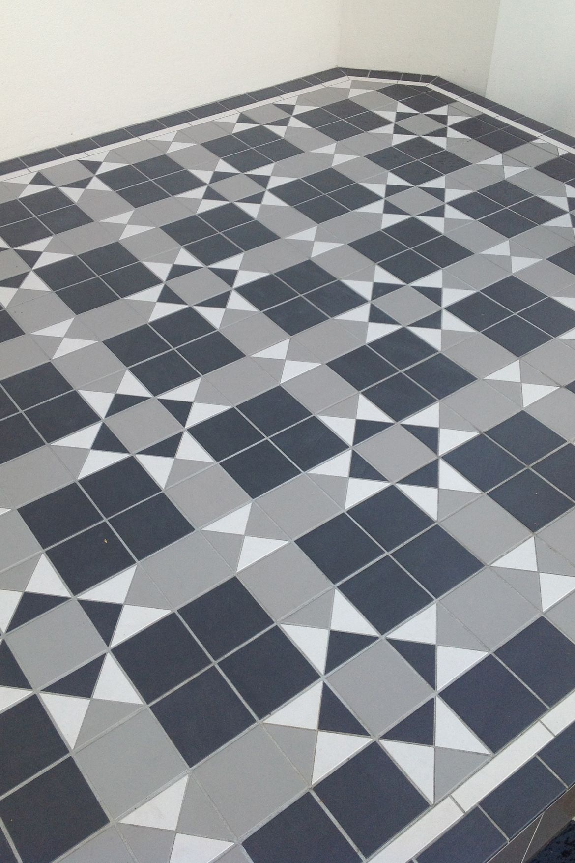 Intrincate Pattern For This Tessellated Floor Tiles Homely
