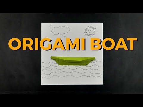 Photo of Origami Boat | class 2nd